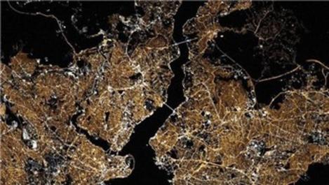 NASA'dan İstanbul paylaşımı: Hey İstanbul parlıyorsun!