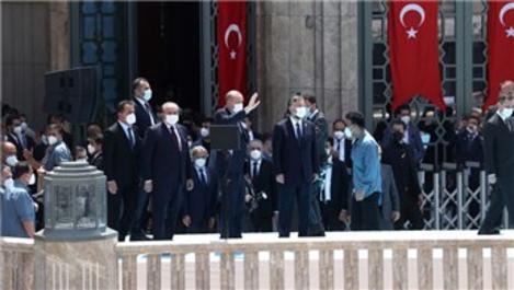Taksim Camisi, Cumhurbaşkanı'nın katılımıyla açıldı!