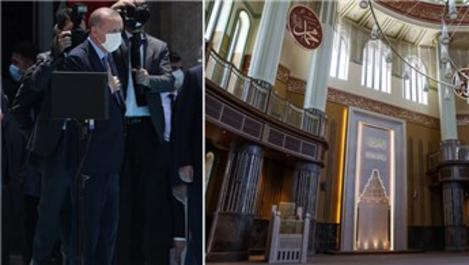 Taksim Camisi ibadete açıldı!