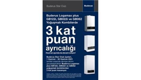 Buderus Star Club'ın Kat Kat Puan kampanyası devam ediyor