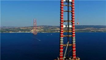 1915 Çanakkale Köprüsü'nde yol yapımı başlıyor!