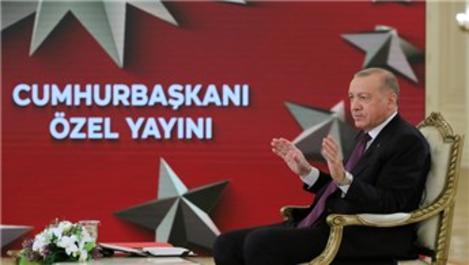 Cumhurbaşkanı ''Kanal İstanbul'un temelini atıyoruz''