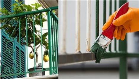 Bi'Boya'dan balkon demiri boyamanın püf noktaları!