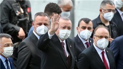 Cumhurbaşkanı Erdoğan, Uzun Mehmet Camisi'nin açılışını yaptı