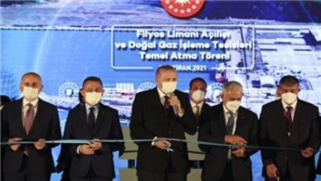 Cumhurbaşkanı, Filyos Limanı açılışını gerçekleştirdi!