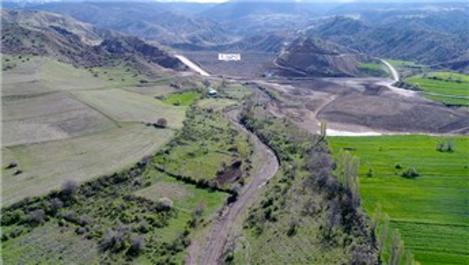 İncesu Barajı ekonomiye yılda 7,5 milyon lira katkı sağlayacak