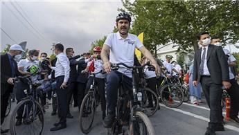 Bakan Kurum'dan bisiklet yolu açıklaması!