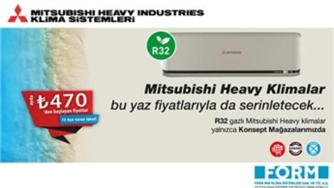 Mitsubishi Heavy'den serinleten kampanya!