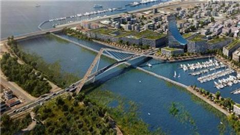 Kanal İstanbul'un ilk köprüsü için düğmeye basıldı!