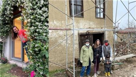 Burcu Kara, İznik'teki evinde tadilata devam ediyor!