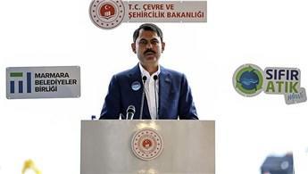 """""""Marmara Denizi'ni 'Koruma Alanı' ilan edeceğiz"""""""