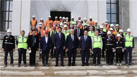 Bakan Kurum, Yargıtay Başkanlığı'nın yeni binasını inceledi