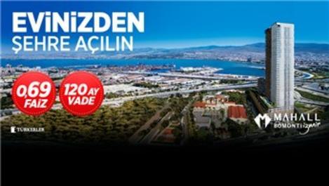 Mahall Bomonti İzmir'le Evinizden Şehre Açılın!