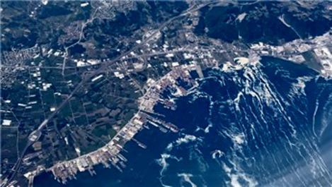 Marmara Denizi'ndeki müsilaj havadan görüntülendi
