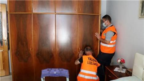 Yalova'da depreme karşı 'Hayatı Sabitliyoruz Projesi' uygulanıyor