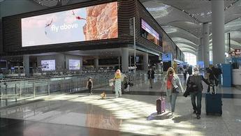 İstanbul Havalimanı, 686 uçuşla Avrupa'da zirveyi bırakmadı