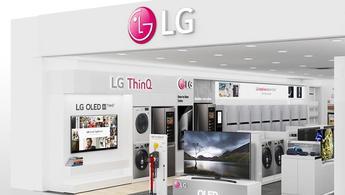 LG Brand Shop Trada, Emaar AVM'de açıldı