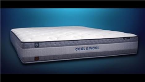Yataş'ın omurga dostu yatağı Hybrid Cool&Wool!