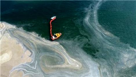 Marmara Denizi'nde 733 metreküp müsilaj temizlendi!
