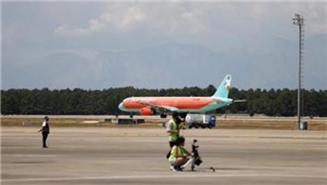 Antalya'da hava yolu trafiği hareketlendi!