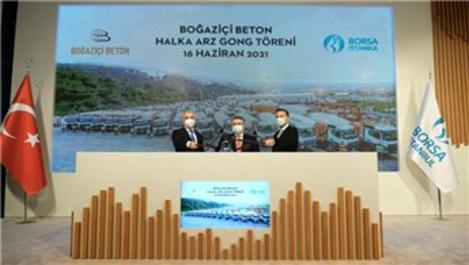 Borsa İstanbul'da gong, Boğaziçi Beton için çaldı!