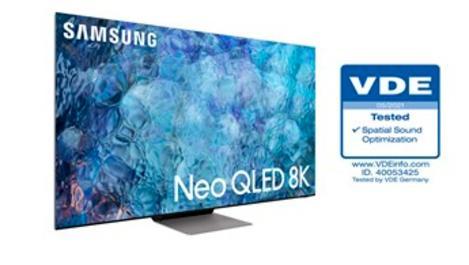 Samsung Neo QLED TV'lere ses optimizasyon ödülü!