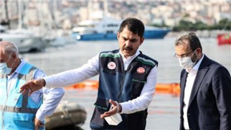 Bakan Kurum ''İlk 30 metrede müsilaj daha az''