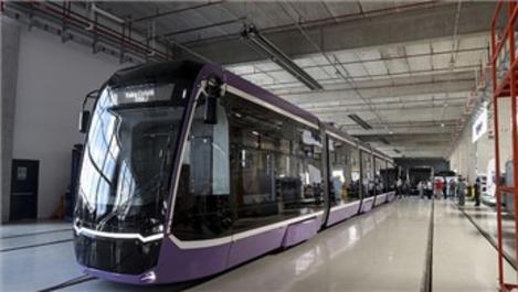 Bozankaya'nın ürettiği tramvay Romanya'ya gönderildi!