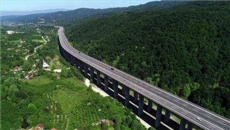 Yollar ağaçlandırıldı, 1 milyon ton emisyon azaltıldı!