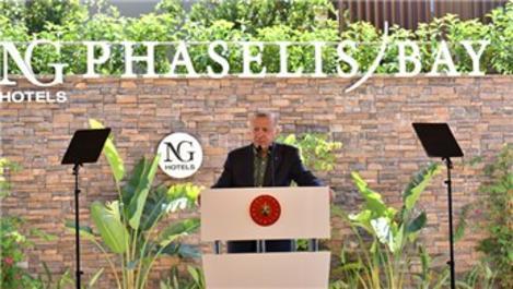 Başkan Erdoğan, NG Phaselis Bay'ın açılışına katıldı