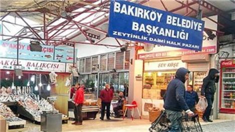 Bakırköy Zeytinlik Halk Pazarı için tahliye kararı!