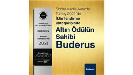 Buderus Social Media Awards'da altın ödülün sahibi oldu!