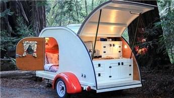 Doğada tatil sezonu açıldı, karavanlar yenilendi