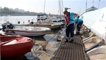 İstanbul'da müsilaj temizleme çalışmaları devam ediyor