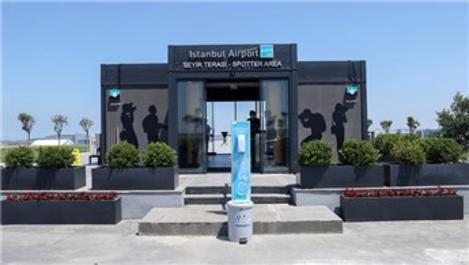Türkiye'nin ilk resmi spotter alanı İstanbul Havalimanı'nda!