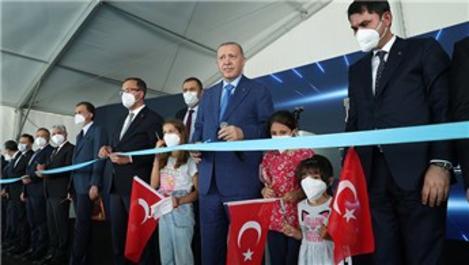 Cumhurbaşkanı Erdoğan, Hatay Stadı'nın açılışını yaptı