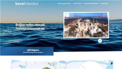 Kanal İstanbul'un internet sitesi açıldı