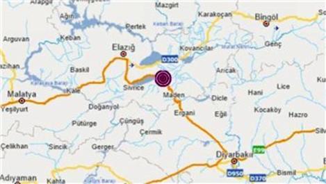 Elazığ'da 4.3 büyüklüğünde korkutan deprem!