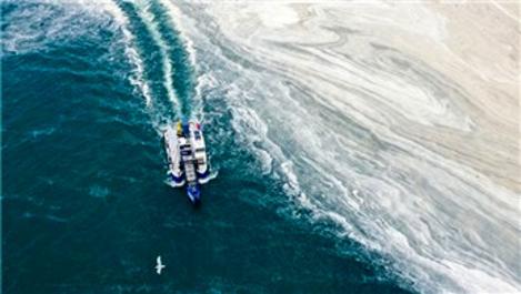 Marmara Denizi'nden 8 bin 867 metreküp müsilaj temizlendi