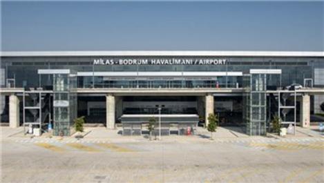 Milas-Bodrum Havalimanı'nda yangın!