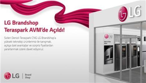 LG, Denizli'deki ilk mağazasını Teraspark AVM'de açtı