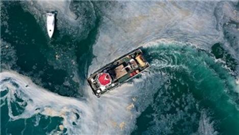 Marmara Denizi'nden 9 bin 394 metreküp müsilaj temizlendi