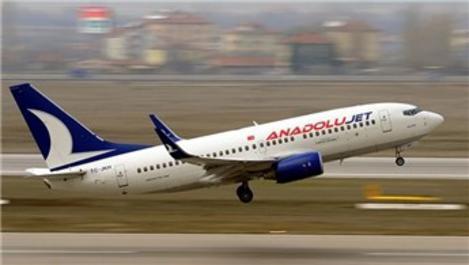 Anadolu Jet'in Ankara-Beyrut seferleri başladı