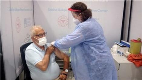 Sabiha Gökçen Havalimanı'ndaki aşı merkezi hizmet vermeye başladı