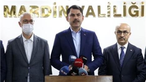 Bakan Kurum ''Mardin'de 5 Millet Bahçesi yapıyoruz''