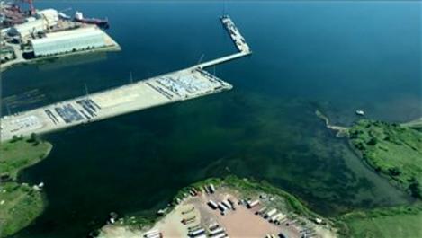 Marmara Denizi'ndeki müsilaj havadan görüntülendi!