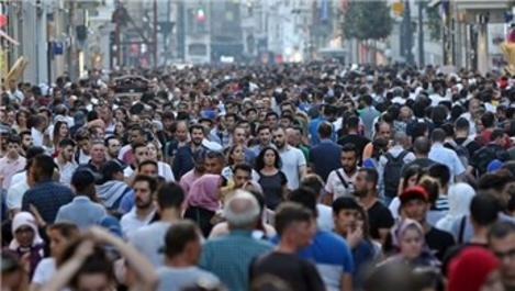 Türkiye, nüfus büyüklüğüne göre sıralamada 19'uncu sırada