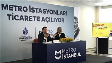 İBB Metro İstanbul istasyonlarındaki ticari alanları ihaleye açtı