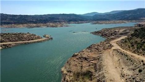 Adnan Menderes Barajı'ndaki su seviyesi yüzde 19'a geriledi