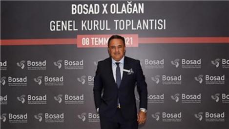 Akın Akçalı, yeniden BOSAD Başkanı oldu